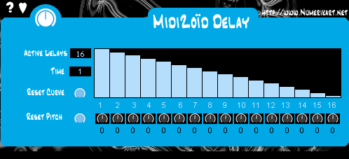MidiZoid Delay